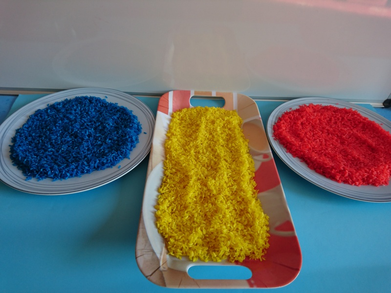 How to: Making Coloured Rice
